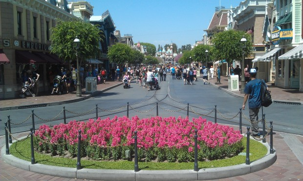 A look at Main Street this afternoon
