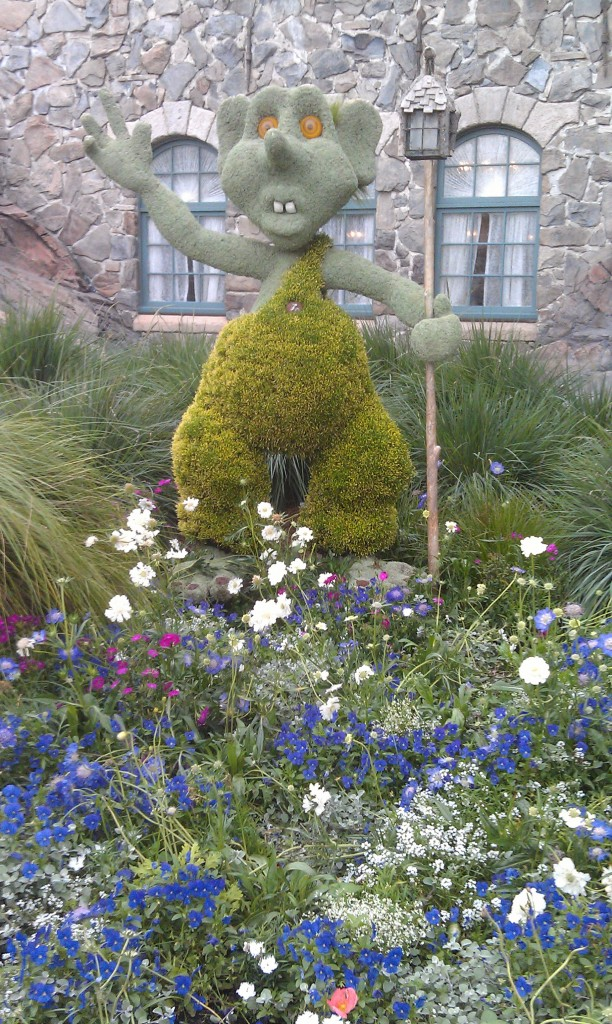 A troll topiary in Norway
