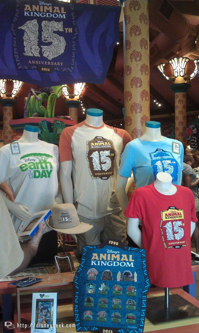 #DAK15 merchandise display inside Creature Comforts