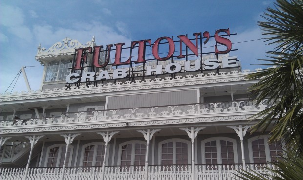 Dinner this evening at Fultons