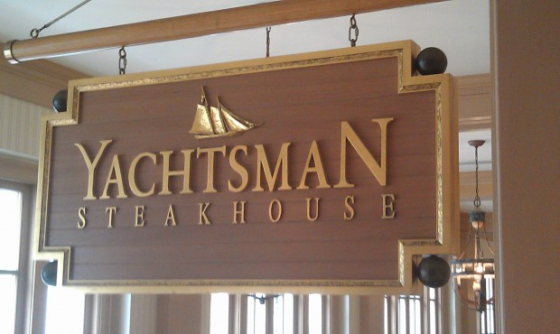 Dinner this evening is at Yachtsman Steakhouse