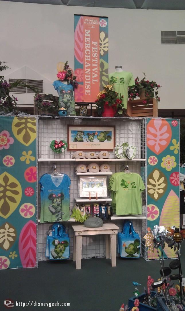 Epcot Flower and Garden festival merchandise
