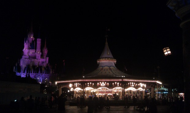 Fantasyland this evening