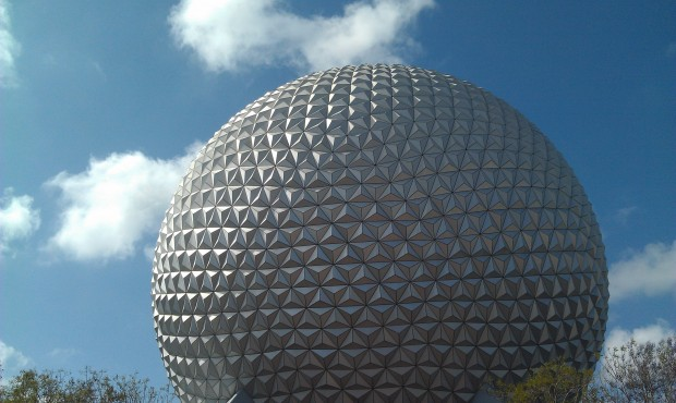 First stop today, Epcot