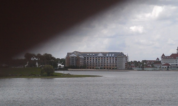 Grand Floridian DVC work from Seven Seas Lagoon