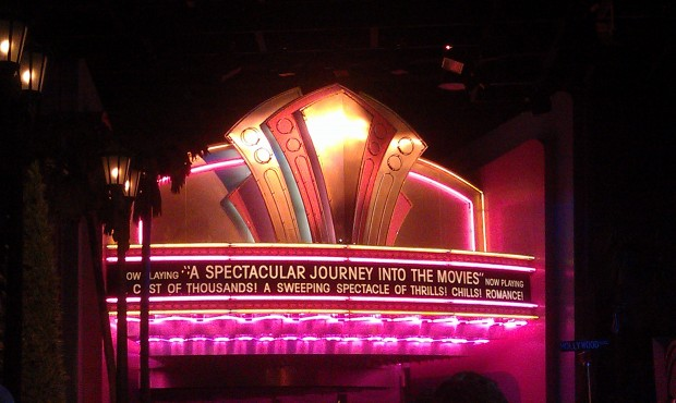 Great Moments at the Movies, a walk on this morning