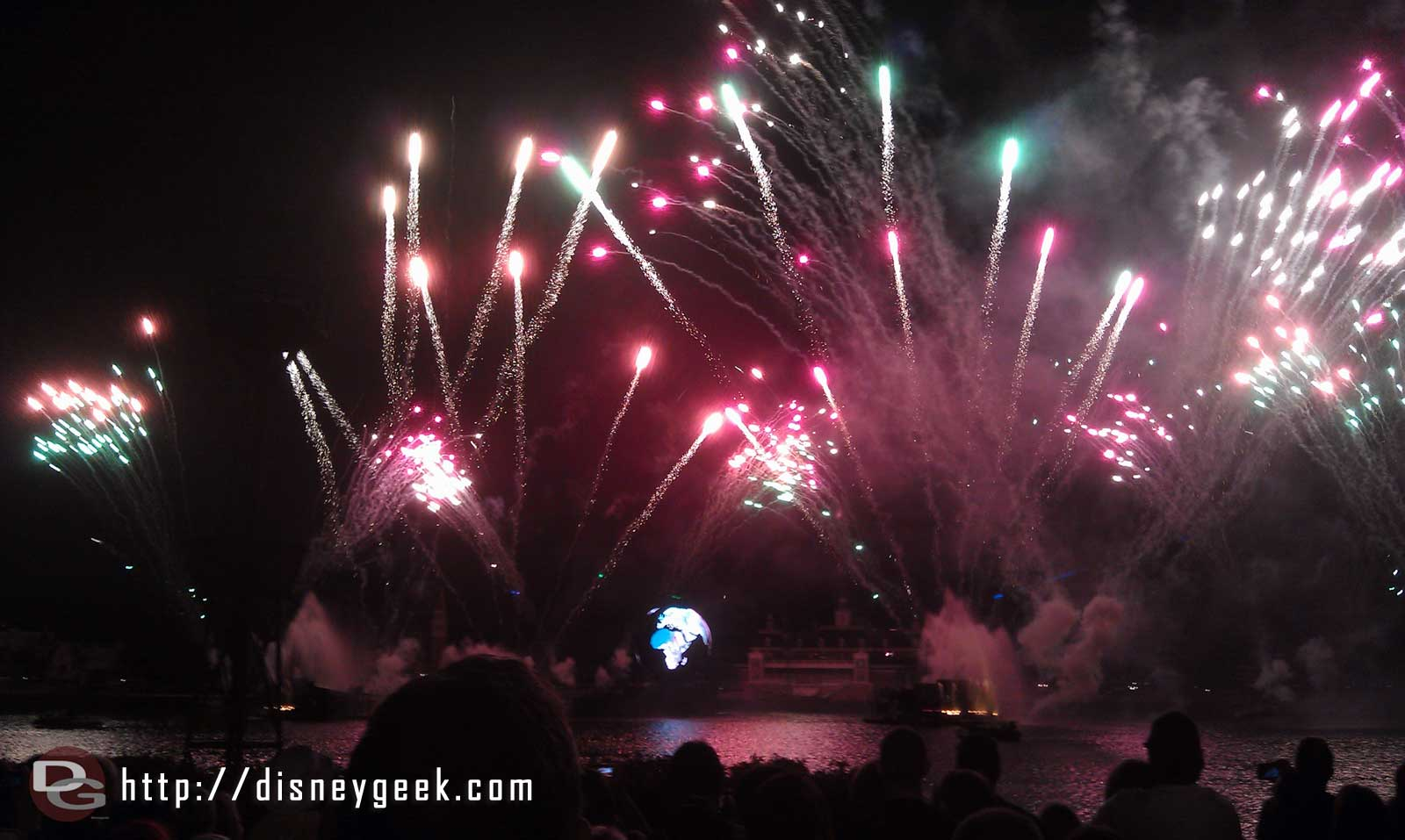 Illuminations to wrap up the day