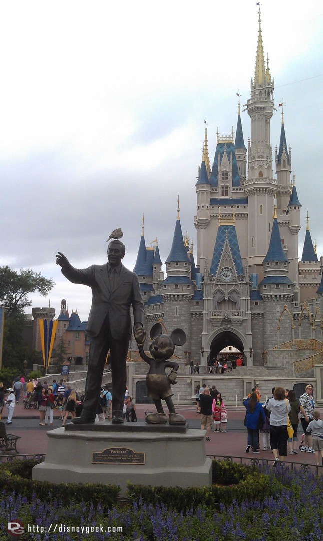 Is it a good sign or bad omen when a pigeon is on Walt's head?