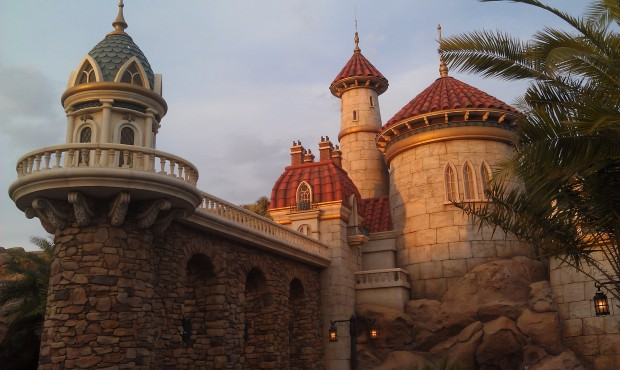 Little Mermaid posted at 20 min, but really just the time it took to walk the queue