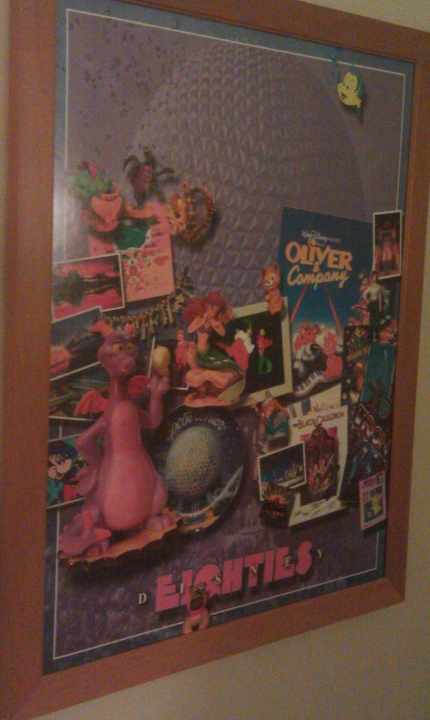 Lucked out and a room in the 80s was ready for us already so dropped bags and am enroute to Epcot already.
