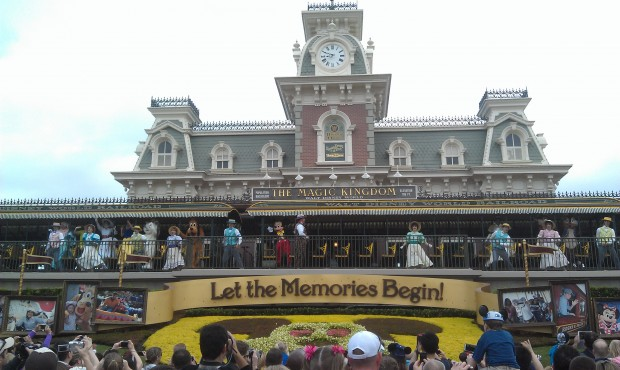 Magic Kingdom opening show
