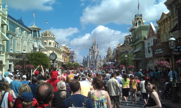 Main Street is busy this morning