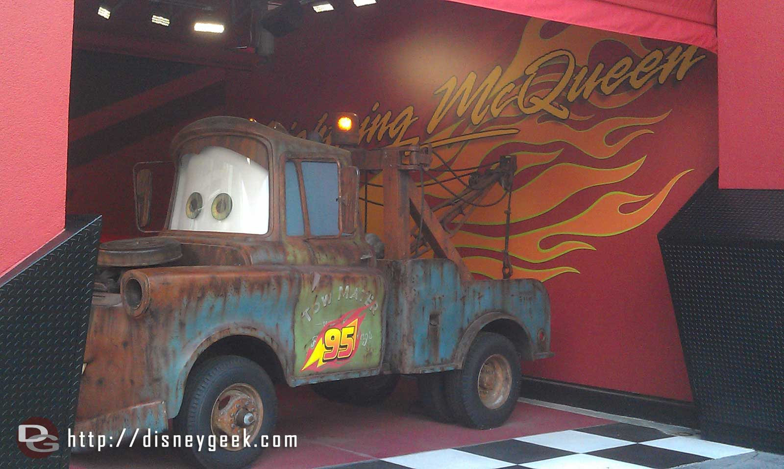 Mater a long way from Radiator Springs