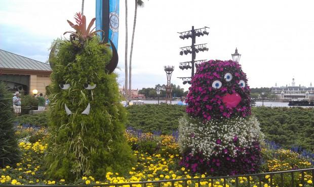 Monster topiaries