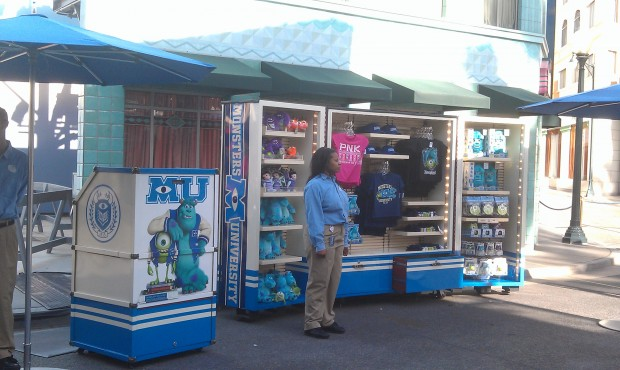 Monsters University merchandise on Sunset Blvd in #HollywoodLand