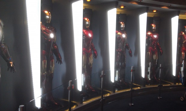 More Iron Man suits