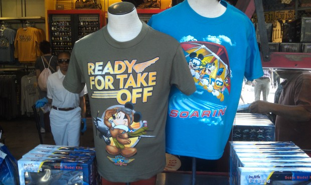 New Soarin merchandise ?  or just shirts I did not notice before...