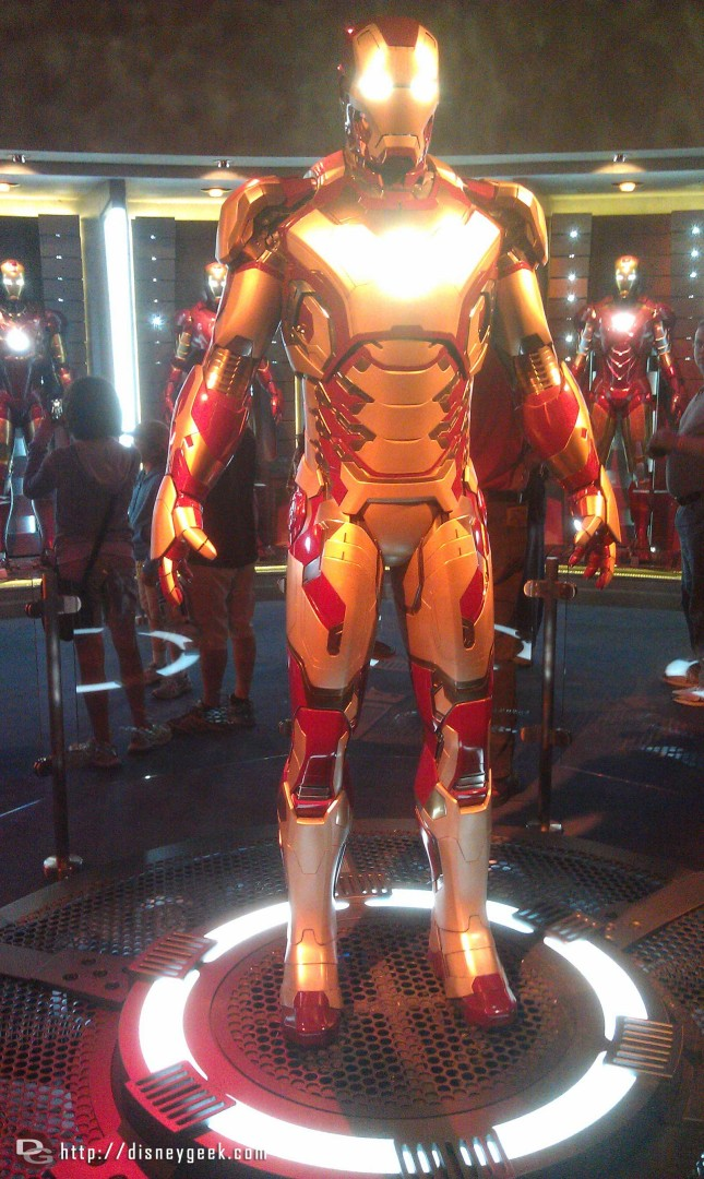 One last Iron Man Suit picture, more in the update tomorrow.