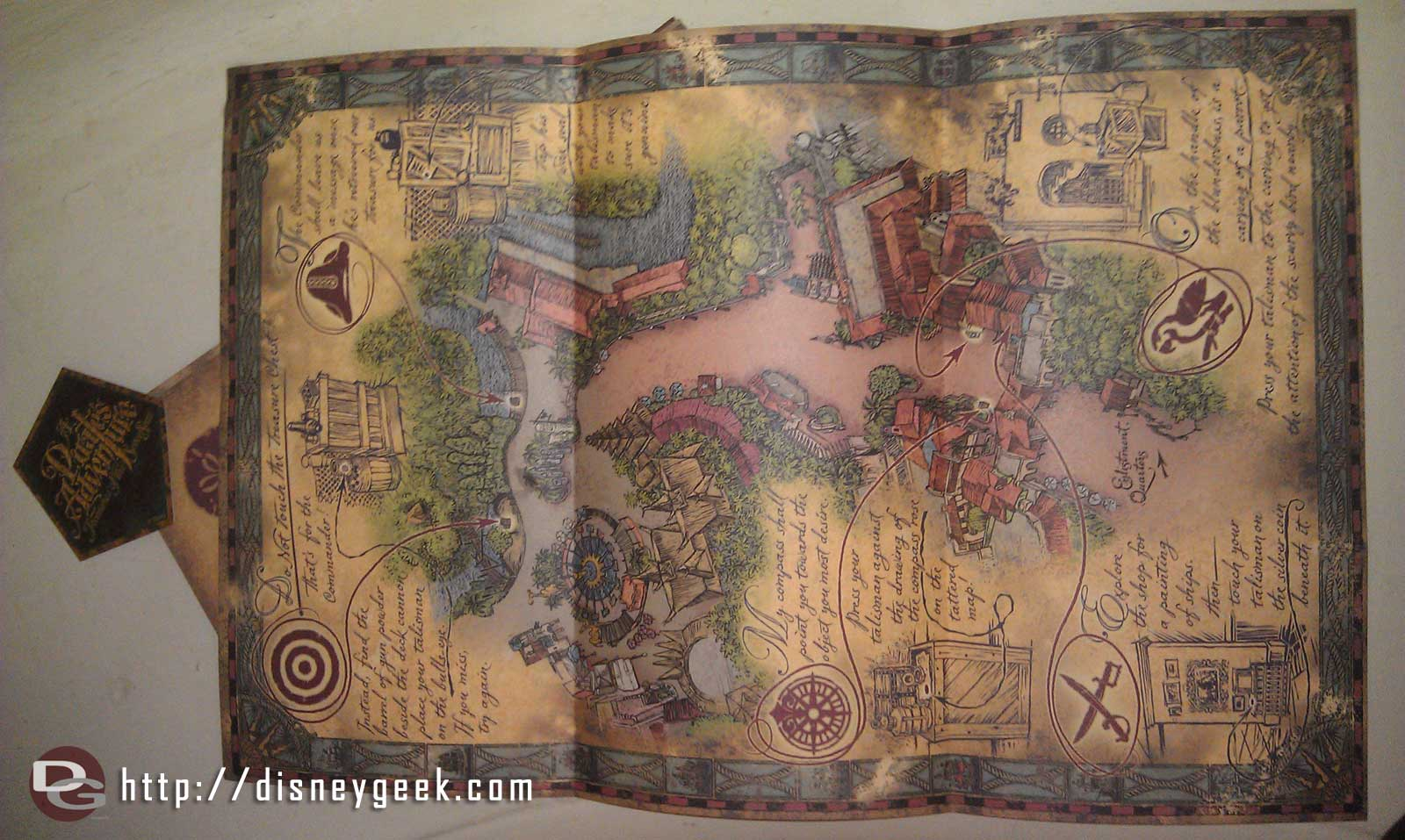 Pirates Adventure  Treasures of the Seven Seas map