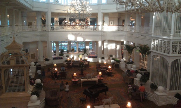 Returning to the Magic Kingdom by way of the Grand Floridian