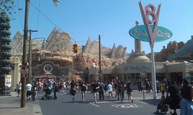 Route 66 at Cross St in #CarsLand