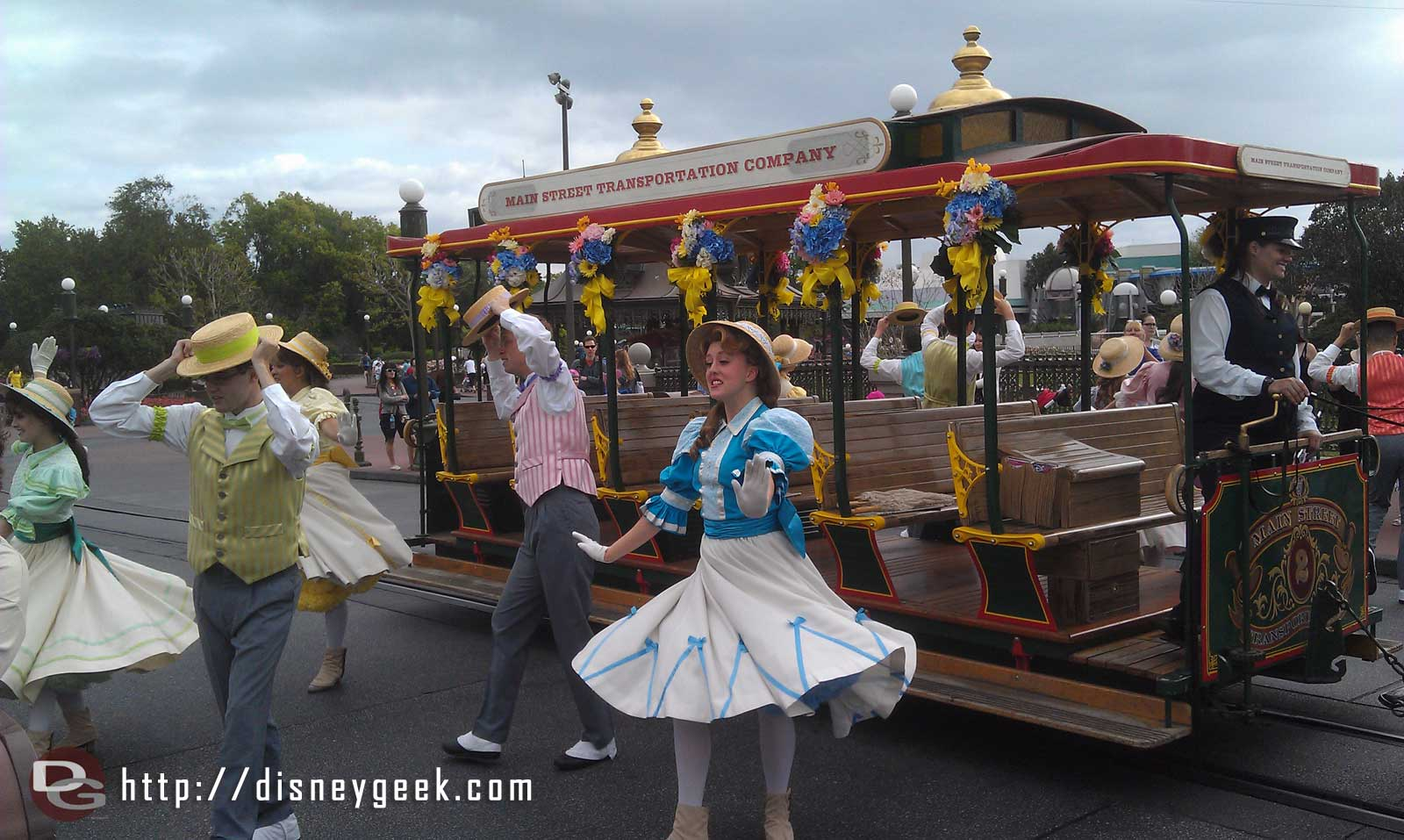Spring Main Street Trolley Show, #LimitedTimeMagic if I remember correctly