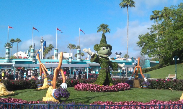Starting off the morning at the Hollywood Studios