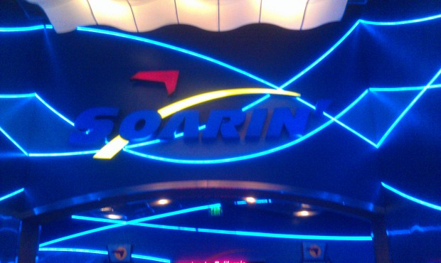 Stopped by Soarin