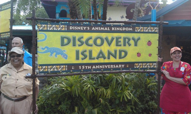 The Discovery Island banner #DAK15