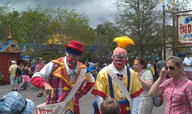 The Giggle Gang out roaming the Storybook Circus