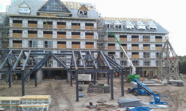 The Grand Floridian DVC work from the Resort Monorail