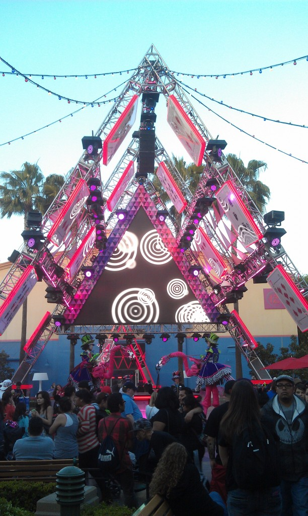 The House of Cards stage #MadTParty
