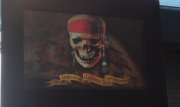 The Legend of Jack Sparrow is open this time by so in linevto give it a try