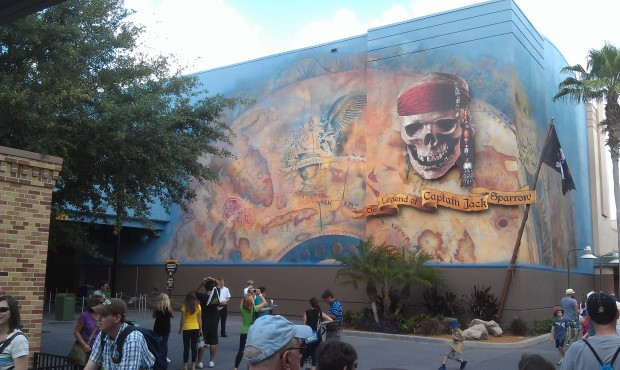 The Legend of Jack Sparrow is still closed