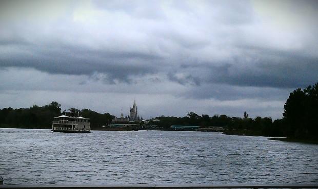 The Magic Kingdom across the Seven Seas Lagoon