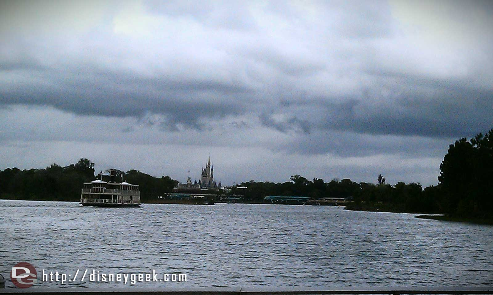 The Magic Kingdom across the Seven Seas Lagoon