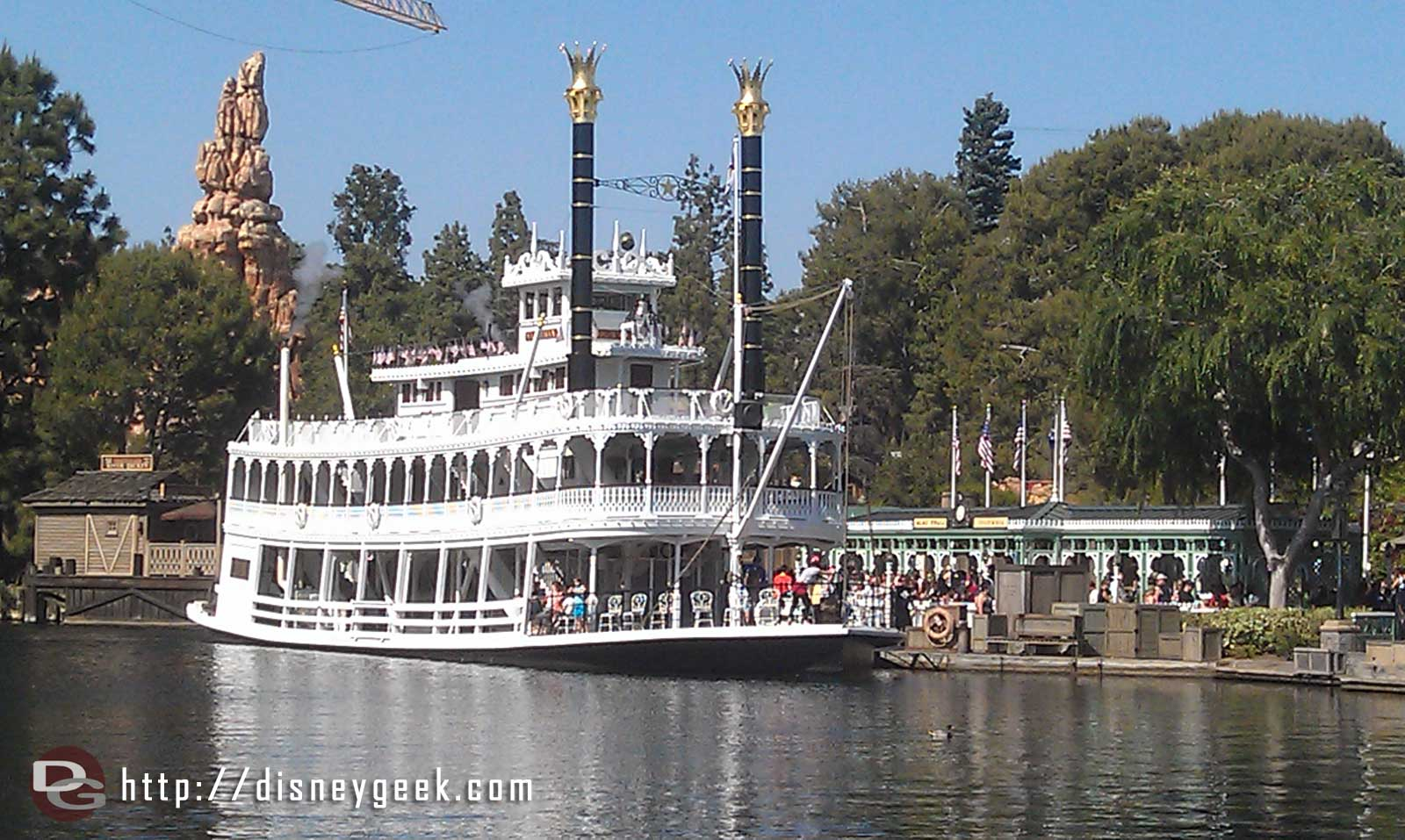 The Mark Twain the Rivers of America