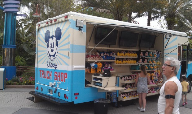 The Truck Shop is out at Downtown Disney