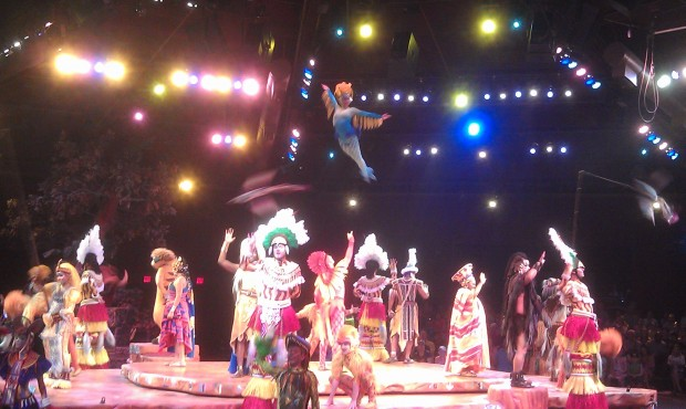 The finale to Festival of the Lion King