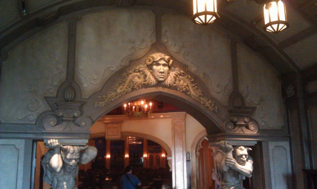 The foyer of Be Our Guest