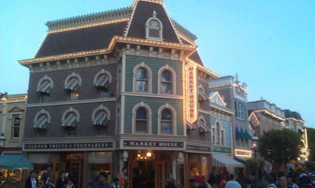 This is the last weekend for the Market House and Disneyana before the Starbucks transformation