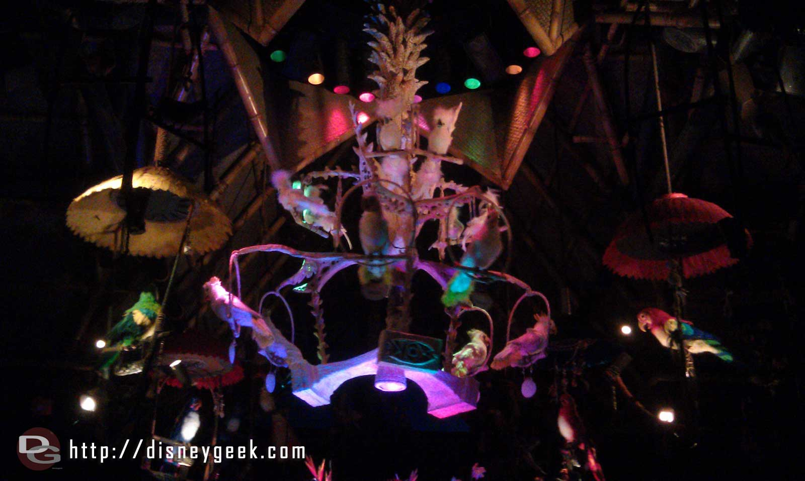 Tiki Room time