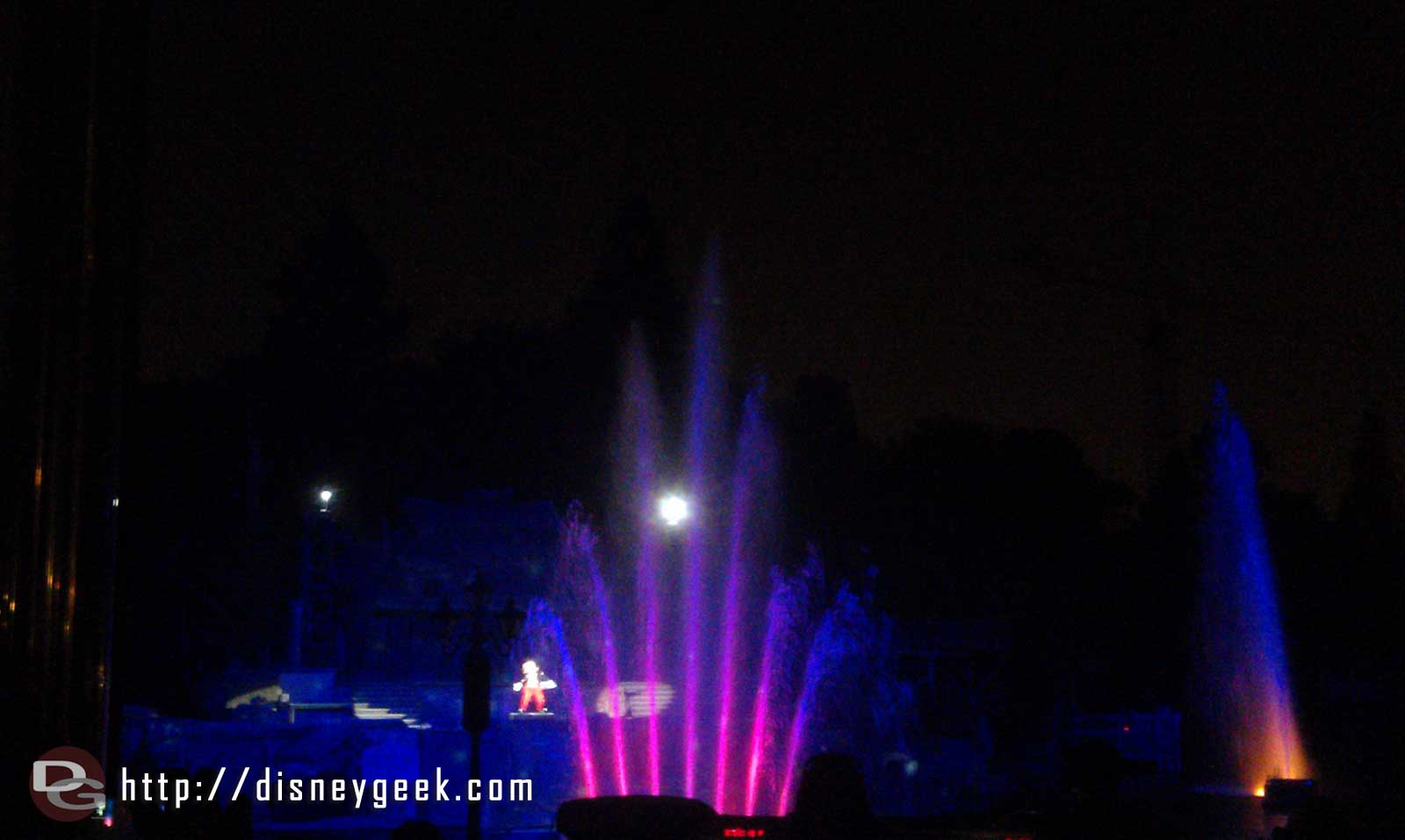 Time for Fantasmic