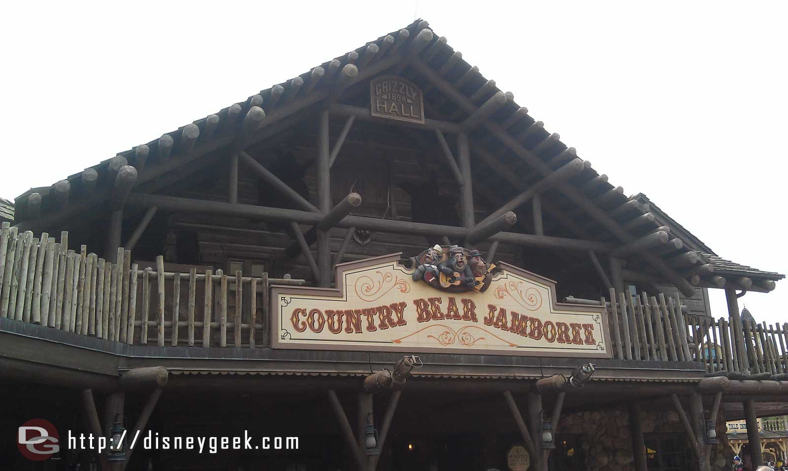 Time for some bears, Country Bear Jamboree