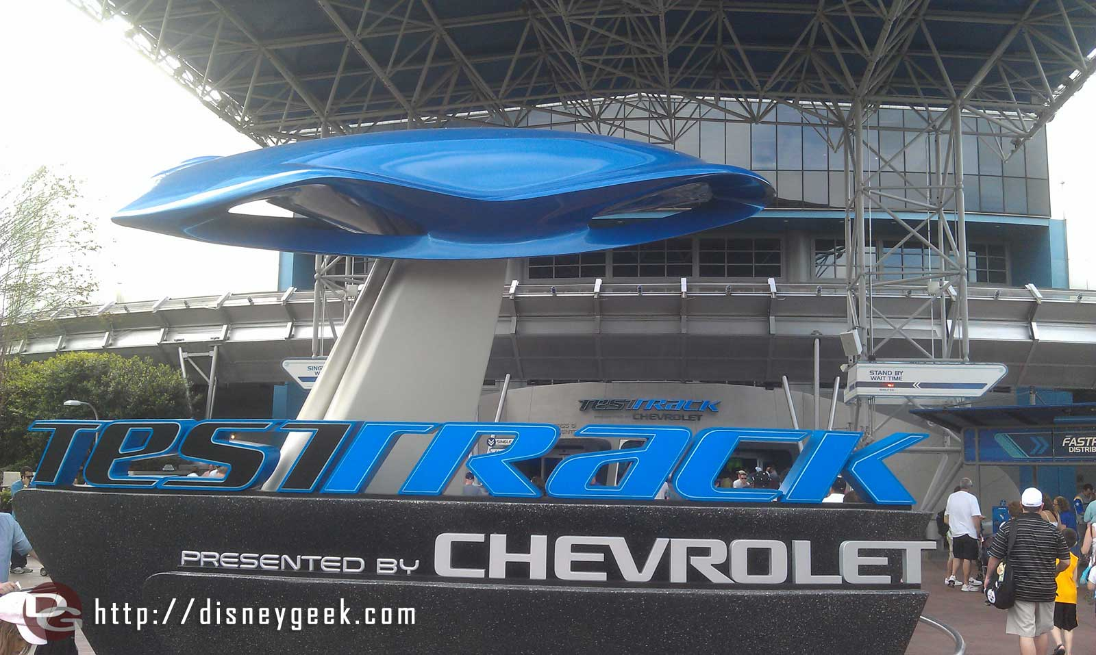Time to try out the updated Test Track