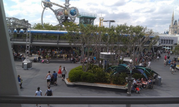 Tomorrowland from the Peoplemover