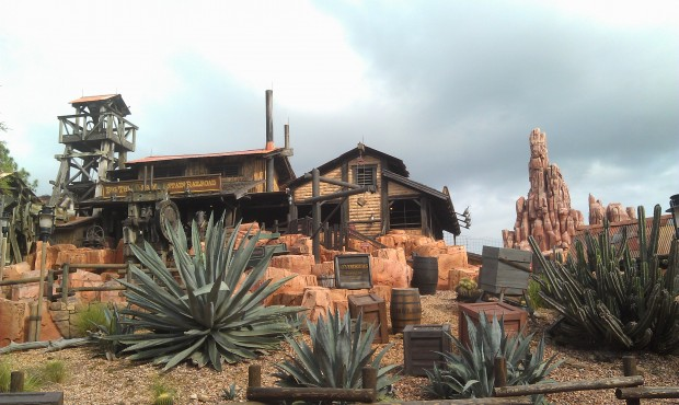 Walking by Big Thunder