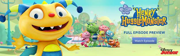 """Henry Hugglemonster"" to debut Monday April 15 on Disney Junior"