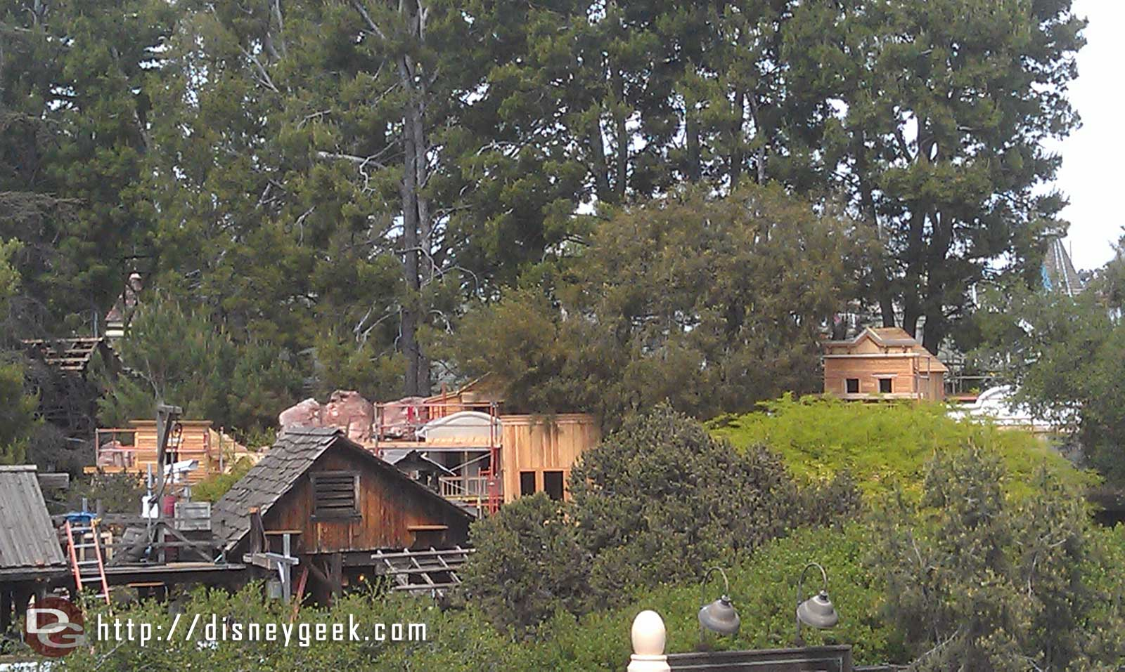 A check in on the Rainbow Ridge reconstruction from the Mark Twain
