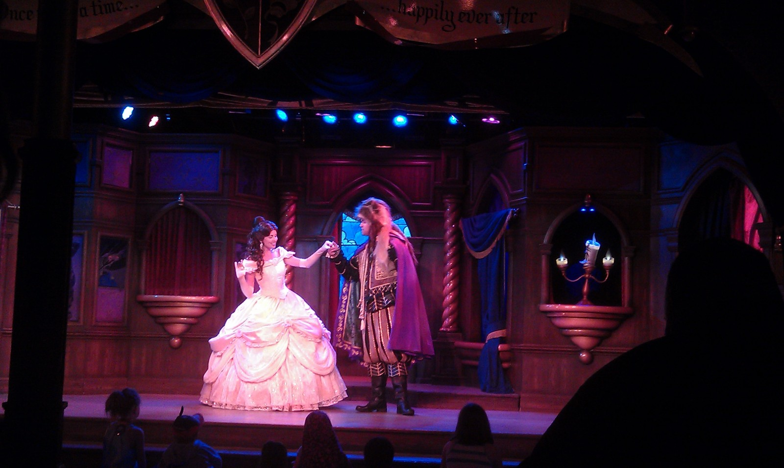 A late night performance of Beauty and the Beast at the Royal Theatre